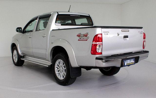 Toyota Hilux SRV turbo diesel 4x4 aut. - Foto 2