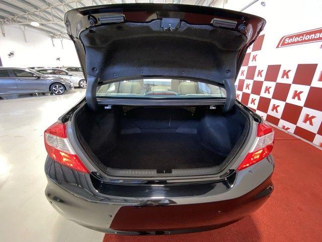 Honda CIVIC Civic Sedan LXR 2.0 Flexone 16V Aut. 4p - Foto 12