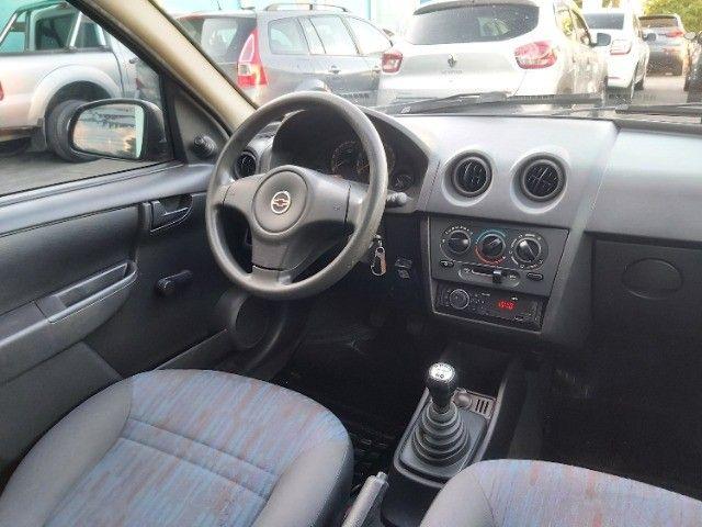Chevrolet Celta 1.0 Life 2008 Ar Cond. + Direção + GNV  - Foto 8