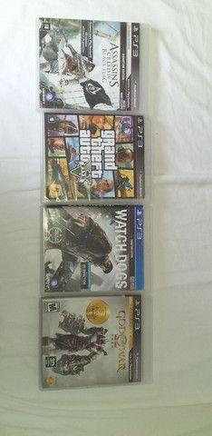 Jogos PS3 originais estado de novo