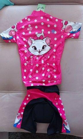 Conjunto infantil de ciclismo gatinha Marie - Foto 2