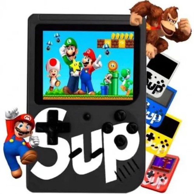 Mini Vídeo Game Portátil Boy Sup 400 Jogos Clássicos + Cabo Av<br><br> - Foto 3