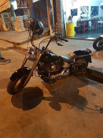 Harley Davidson Fat Boy carburada