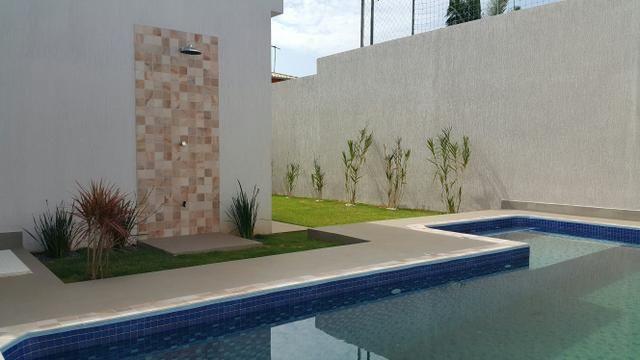 Casa nova 3quartos 3 suítes piscina churrasqueira rua 8 Vicente pires - Foto 10