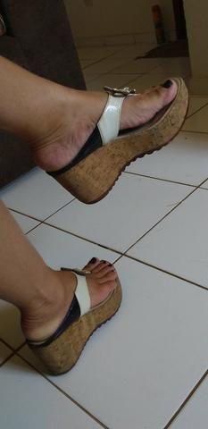 Sandália plataforma
