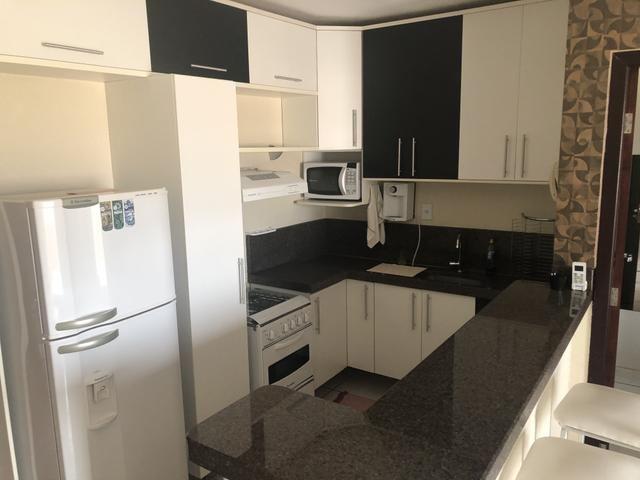 Alugo excelente apartamento mobiliado no centro da cidade - Foto 4