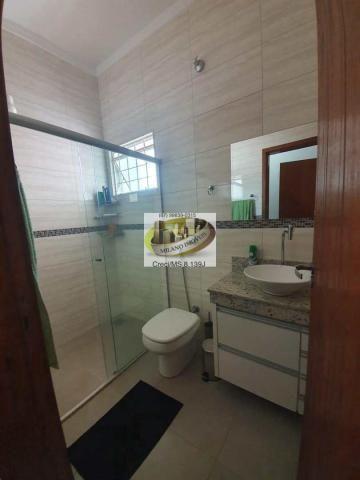 Casa à venda com 3 dormitórios em Parque são carlos, Três lagoas cod:408 - Foto 6