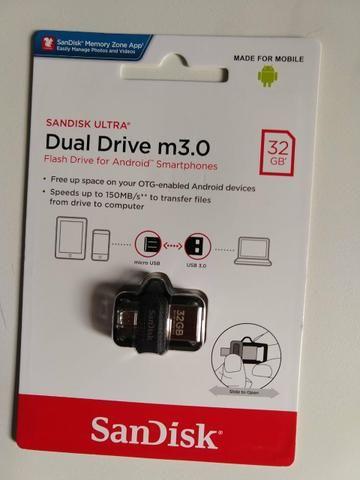 Pen drive pc e celular 32 GB - Foto 3