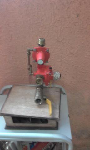 Registro de gás industrial