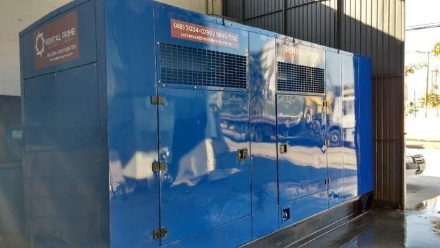 Gerador à Diesel Trifásico 500 KVA Stemac - 500kva - 400kw - Com garantia