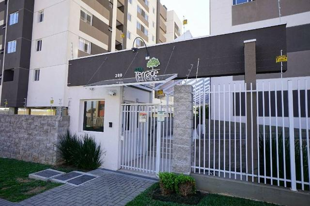 Aluga-se apartamento semi-mobiliado Pinheirinho, ótima localização - Foto 10