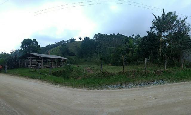 Oportunidade, sitio de 17.000 m² no Caetés interior de Camboriú 14 km da cidade por apenas - Foto 4