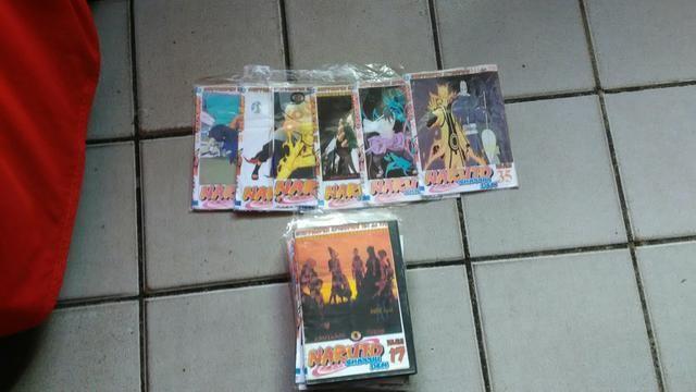 DVDs do NARUTO SHIPPUDEN