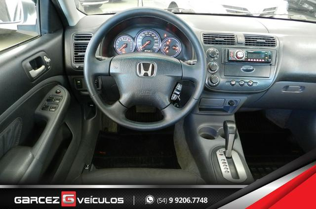 Honda Civic EX 1.7 Automático Completíssimo Legalizado Baixo - Foto 11