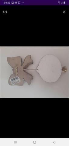 Pingente decorativo infantil anjinho guarda - Foto 2
