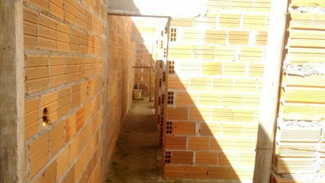 VENDE-SE ESTA CASA EM CONSTRUÇÃO: (Valor negociável ) - Foto 4