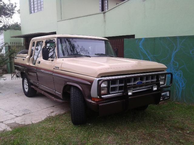 F1000 SS Diesel cabine dupla 1987