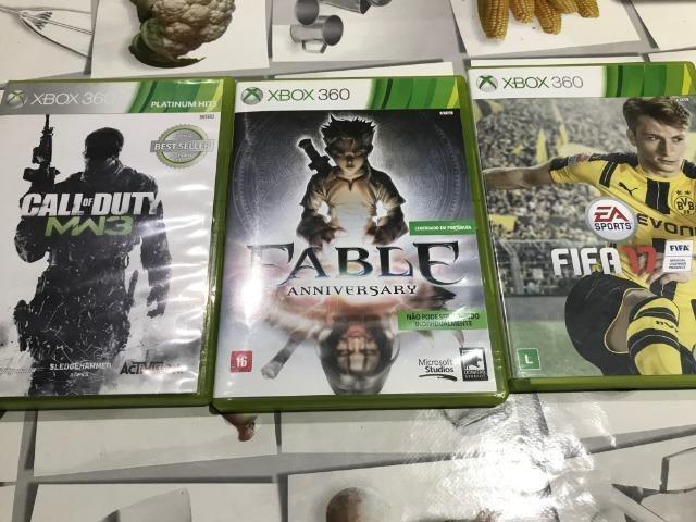 Xbox 360 super slim + jogos 500gb - Foto 3