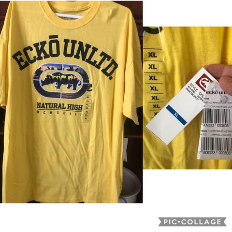 Camisa marca Ecko unlimited sem uso nenhum original