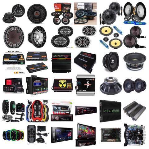 Instalação de Som, Alarme, Trava Elétrica, Câmera de Ré