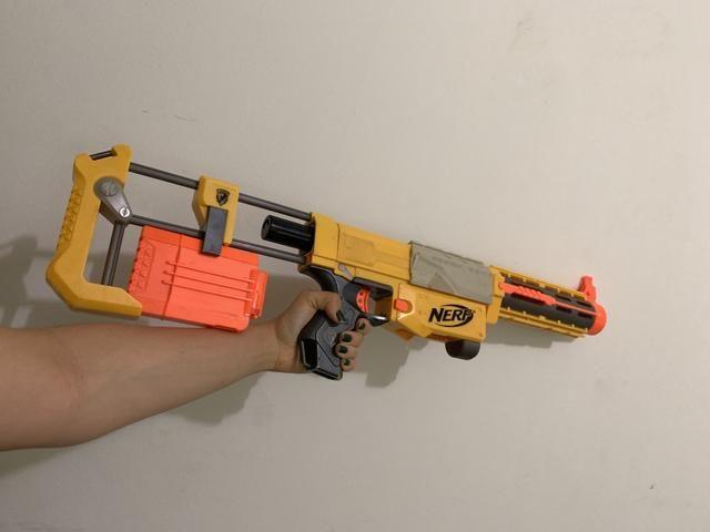Nerf gun otimo estado
