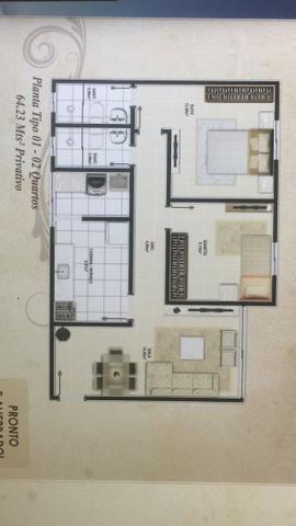 Apartamento em Candeias, 2 quartos