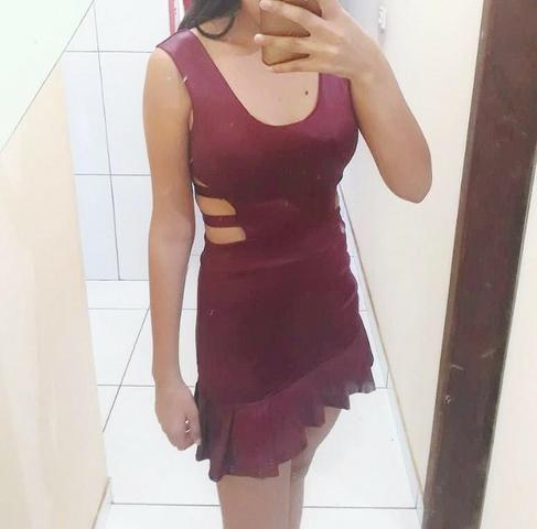 Vestido curto NOVO