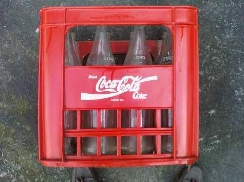 Caixa de coca-cola