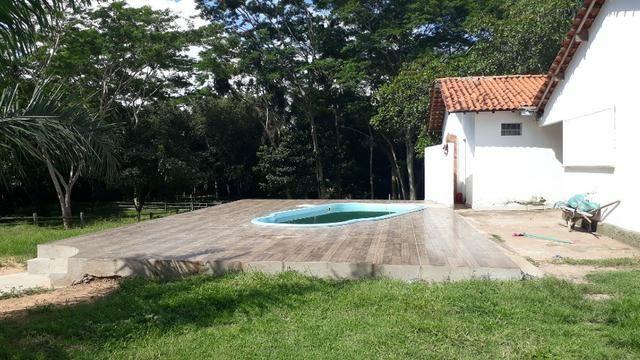 Vendo uma chácara montada pra restaurante contendo piscina Chácara Ganza ? Guarita VG - Foto 4