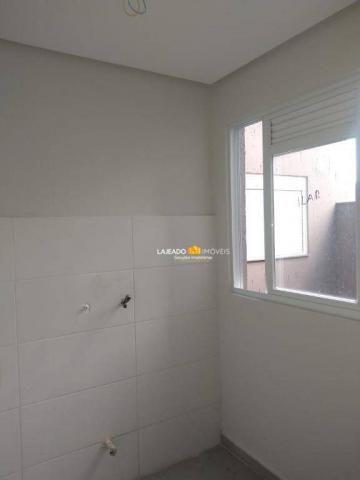 Apartamento com 2 dormitórios para alugar, 62 m² por R$ 805/mês - São Cristóvão - Lajeado/ - Foto 4