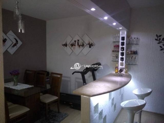 Apartamento Garden com 3 dormitórios à venda, 80 m² por R$ 234.000,00 - Bairu - Juiz de Fo - Foto 4