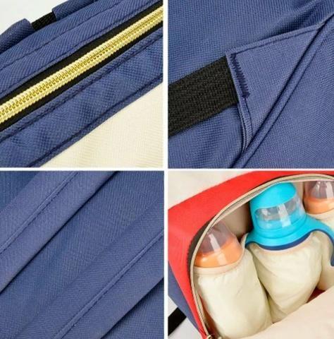 Bolsa mochila Amamentação maternidade - Foto 2