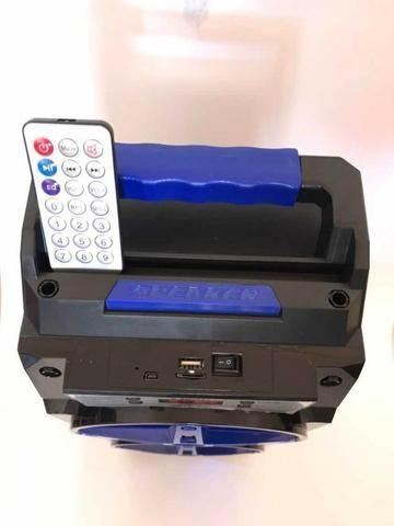Caixa de Som Bluetooth 24 watts com controle - Foto 3