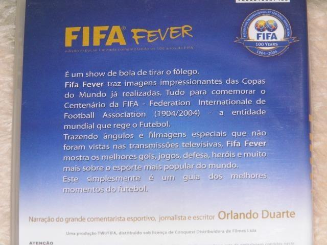 DVD 100 anos da FIFA os campeões melhores lances jogadores é de arrepiar - Foto 2