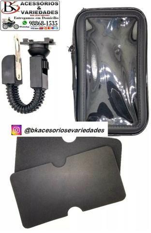Suporte Com Case E Usb Para Moto H Maston- Entrega Grátis - Promoção - Foto 10