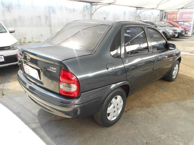 Chevrolet classic life 2007/2008 com vidros travas e alarme som lacrado - Foto 8