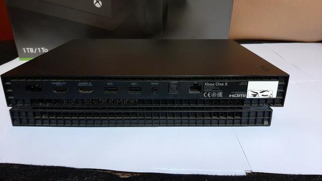 Console Xbox one X + 3 jogos - Foto 6