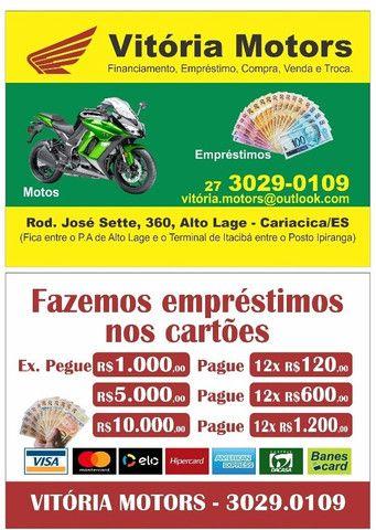 Pop 100 2015/troco por moto menor valor/em até 48x no carnê/36x no cartão de crédito - Foto 6