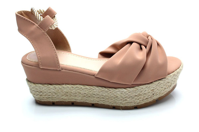 Sandália flatform corda  - Foto 2