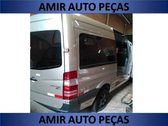 Lateral Lado Direito Sprinter 415 Teto Alto Passageiro
