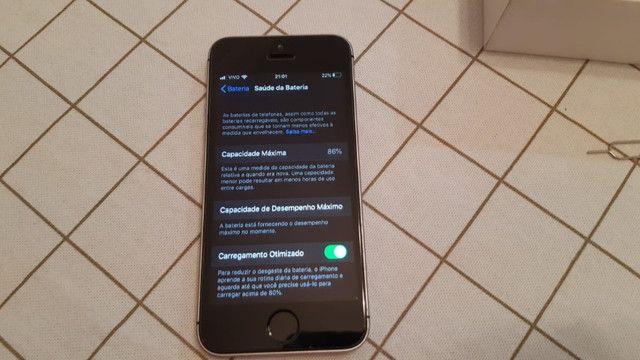 IPhone SE 64GB Cinza Espacial - Foto 6
