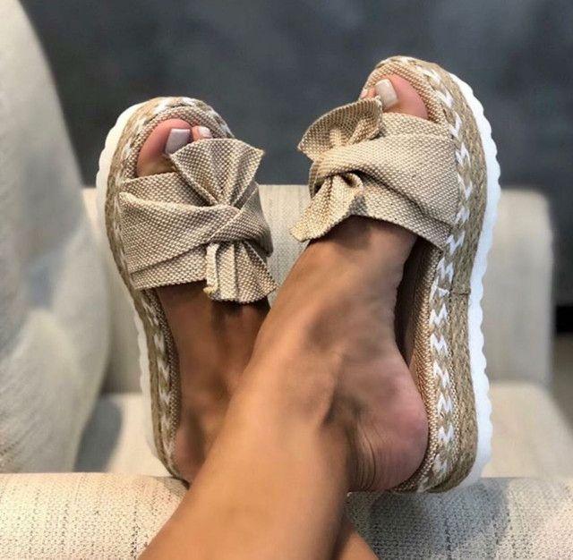 Sandália Flatform