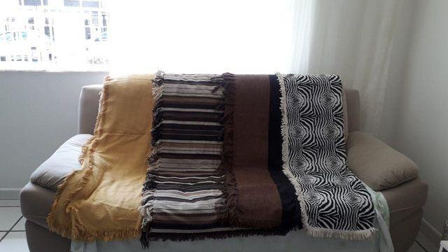 Manta para sofá 2 e 3 lugares - Foto 2