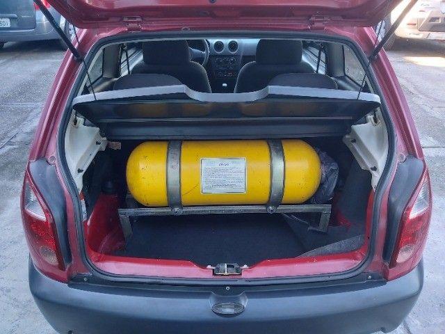 Chevrolet Celta 1.0 Life 2008 Ar Cond. + Direção + GNV  - Foto 7