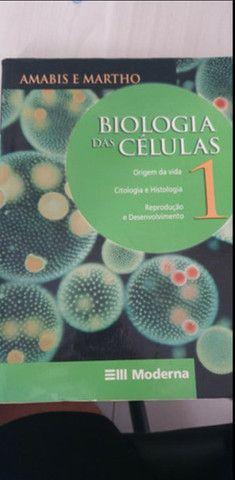 Livros Amabis e Martho (biologia) usados - Foto 2