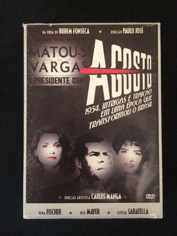 DVD Minissérie Agosto