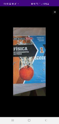 Livros fundamentos da física usados e em ótimo estados - Foto 3