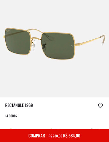 Óculos Ray ban - Rectangle 1969 - Foto 2