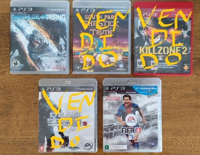 Jogos PS3 por R$20