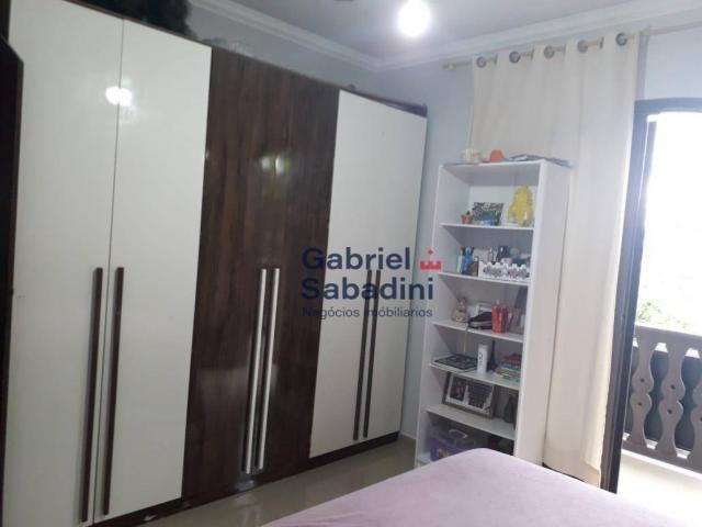 Sobrado com piscina e 4 dormitórios, 1 suítes com ar. locação diária, 135 m² por r$ 1.000, - Foto 5